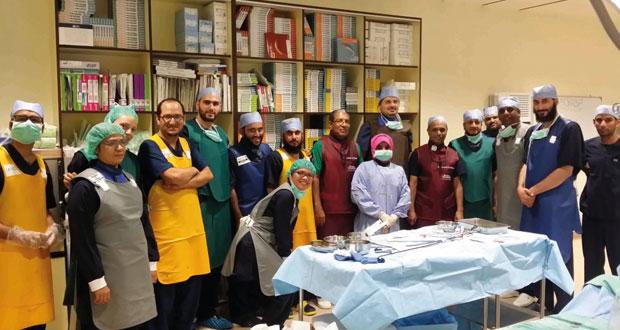 المستشفى السلطاني ينجح بزراعة سدادة في طرف الأذين الأيسر للقلب
