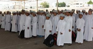 محافظات السلطنة تبدأ استقبال الطلاب في العام الدراسي الجديد 2015/2016 م