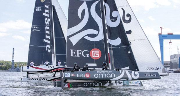 فريق عُمان للإبحار يستعد لخوض سباقات كأس روما