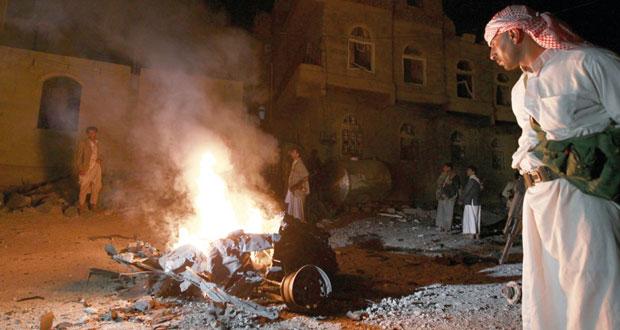 اليمن: هادي يؤكد قرب سيطرة قواته على تعز واشتباكات عنيفة في إب والبيضاء
