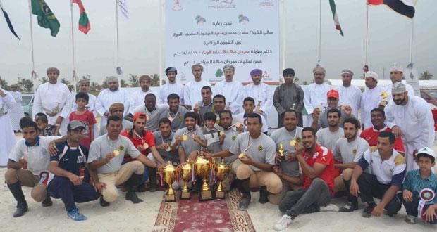خيالة مدرعات سلطان عمان تخطف لقب أفضل فريق