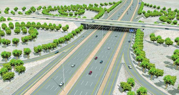 بلدية مسقط تسعى لتعزيز شبكة من الطرق ذات كفاءة في الحركة المرورية
