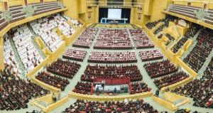 طلبة جامعة السلطان قابوس الجدد يتعرفون على الجامعة وقوانينها