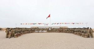 افتتاح فعاليات المخيم الكشفي الخليجي لمرحلة الكشاف المتقدم بمحافظة ظفار