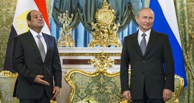 بوتين يؤكد على أهمية دور مصر في أمن الشرق الأوسط