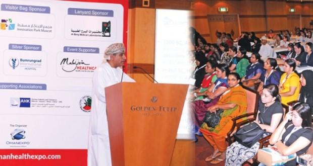 بعد غد الاثنين… السلطنة تستضيف فعاليات مؤتمر ومعرض عُمان الدولي للصحة 2015