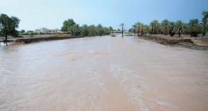السلطنة تشهد أمطارا متفاوتة الغزارة .. وتوقعات باستمرارها اليوم