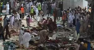 وفاة وإصابة العشرات إثر سقوط رافعة في الحرم في مكة والعمانيون بخير