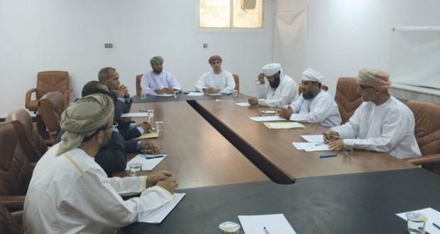 اجتماع الجمعية العامة للمحاكم الابتدائية الواقعة في نطاق اختصاص محكمة الاستئناف بصحار