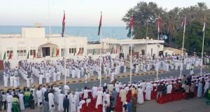 أهالي ولاية صحار ينظمون مهرجانا شعبيا ابتهاجا بالتشريف السامي لجلالة السلطان