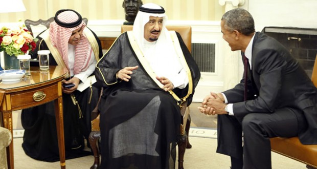 مباحثات سعودية أميركية تؤكد التعاون لتحقيق الاستقرار في الشرق الأوسط