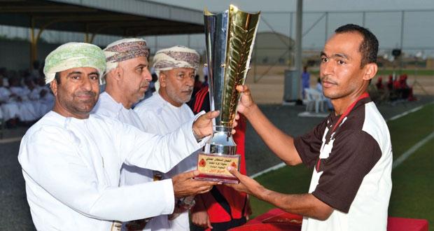 قائد الجيش السلطاني العماني يرعى ختام بطولة الجيش السلطاني العماني لكرة القدم