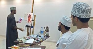 التعليم العالي تقيم حلقة الفنون التشكيلية الصيفية للشباب