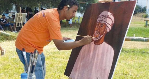 """""""اللقاء الدولي السادس للطلبة الرسامين بتونس"""" .. رسائل قيمة بألوان جميلة"""