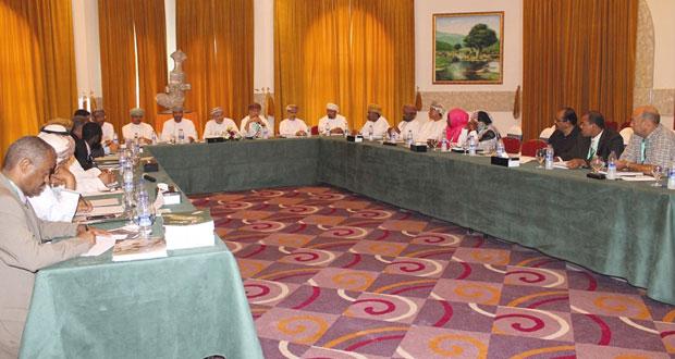 اختتام أعمال الاجتماع الأول لمنسقي الشبكة العربية للإدارة المستدامة للموارد الرعوية بصلالة