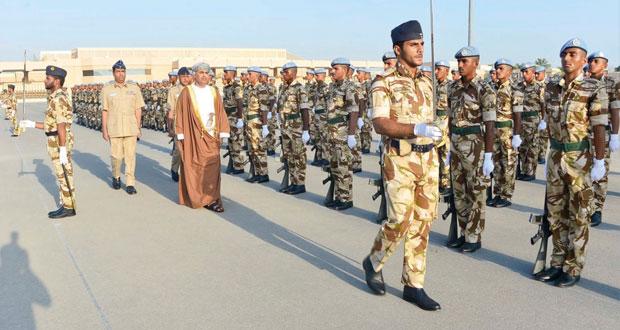 تخريج دورة التدريب العسكري الأساسي بسلاح الجو السلطاني العماني