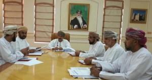 اجتماع لجنة الإشراف على مسابقة المحافظة على النظافة