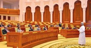 وفد كلية الدفاع الوطني البنجلاديشي يزور مجلسي الدولة والشورى