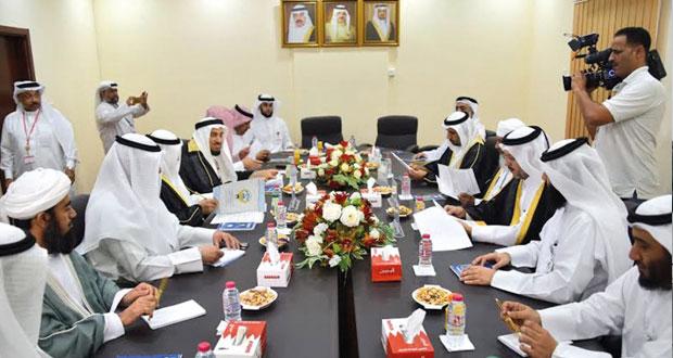 بعثة الحج العمانية تشارك في اللقاء السنوي الرابع لرؤساء بعثات الحج الخليجية بمكة المكرمة