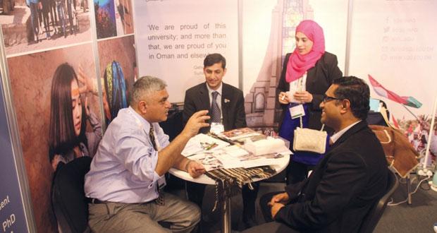 جامعة السلطان قابوس تختتم مشاركتها في مؤتمر الرابطة الأوروبية للتعليم العالي الدولي بأسكتلندا