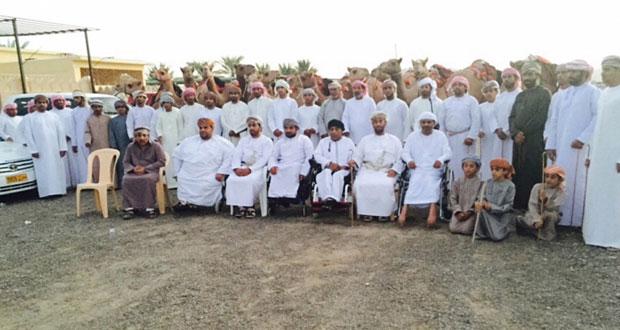 الجمعية العمانية للمعاقين بالظاهرة تشارك في مهرجان العيد بعبري