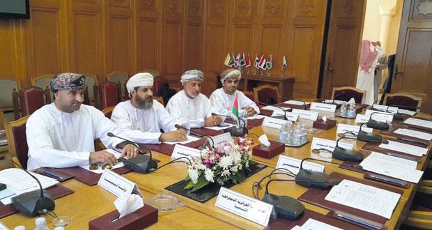 السلطنة تشارك في اجتماع اللجنة المشتركة لخبراء مجلسي وزراء العدل والداخلية العرب