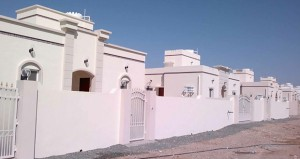 ـ الإسكان : إنشاء (578) وحدة سكنية بأكثر من (26) مليون ريال عماني