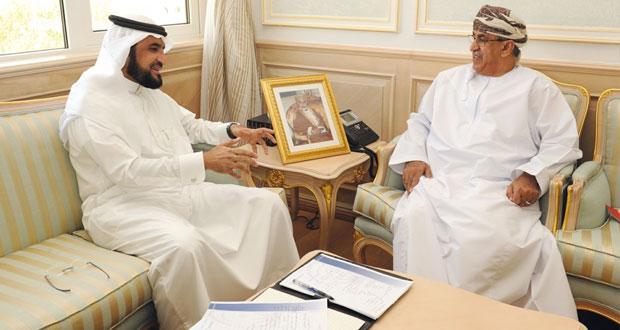 وزير الصحة يستقبل مستشار وزير الصحة السعودي