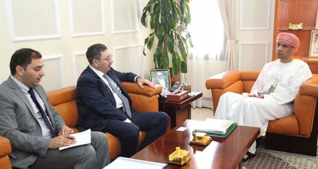 بحث التعاون المشترك بين السلطنة واذربيجان