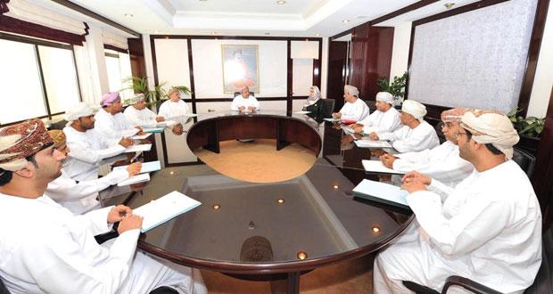 اجتماع اللجنة الإعلامية لانتخابات مجلس الشورى للفترة الثامنة