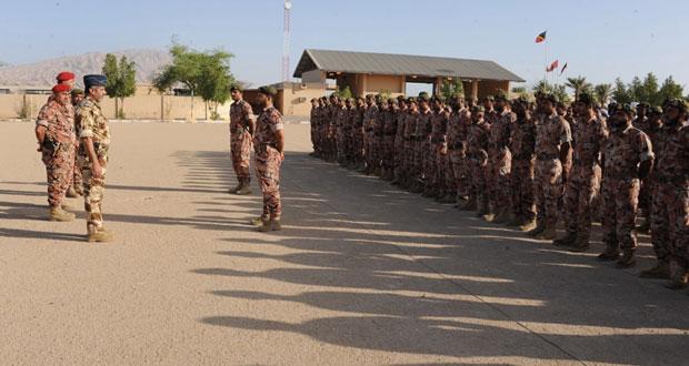 رئاسة أركان قوات السلطان المسلحة تنظم زيارات للمعسكرات الحدودية