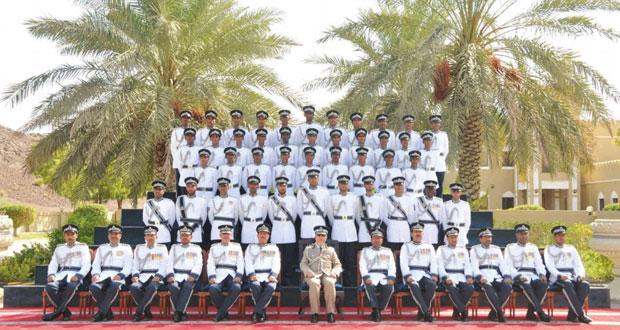 شرطة عمان السلطانية تحتفل بتخريج الدفعة الخامسة والستين من فصائل الشرطة المستجدين