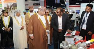 حارب بن ثويني يفتتح معرض عمان للأمن والسلامة والحرائق بمركز عمان الدولي للمعارض