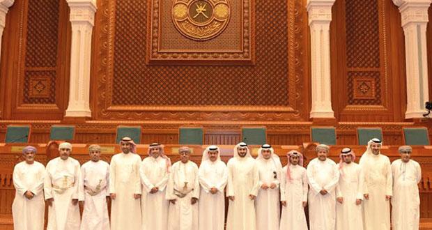 أعضاء فريق التخطيط العمراني بدول المجلس يتعرفون على مهام مجلس الدولة