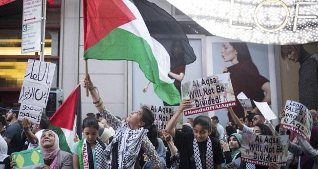 قوات الاحتلال تقمع مسيرات التضامن مع القدس وحملة اعتقالات في (الضفة)