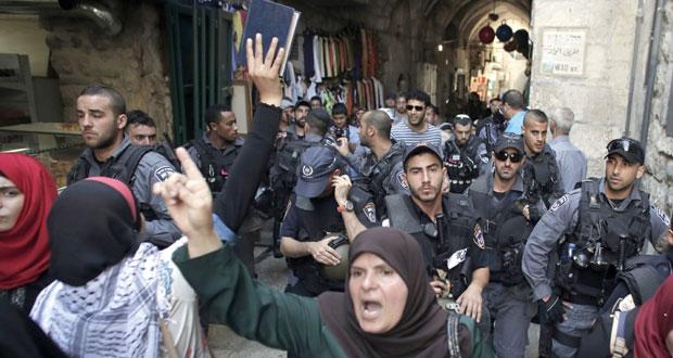 القدس تنتفض ضد الاحتلال واعتقالات وإصابات باعتداءات الميليشيات الإسرائيلية