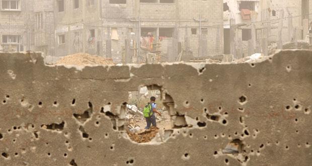 إصابة فلسطيني بانفجار جسم من مخلفات الاحتلال بغزة