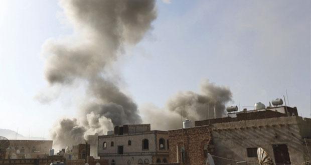 اليمن: عودة بحاح و7 من وزرائه إلى عدن .. التحالف يستهدف مواقع عسكرية للحوثيين في صنعاء