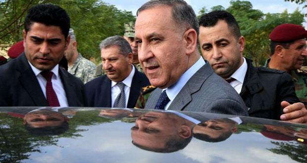 العراق: تعرض موكب وزير الدفاع لإطلاق نار شمال تكريت