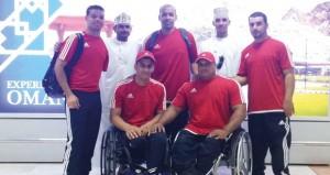 منتخب ألعاب القوى للمعاقين يشارك في بطولة الخليجية بالدوحة