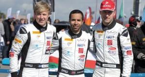 فريق عمان لسباقات السيارات بقيادة الحارثي ضمن العشرة الأوائل في أقوى البطولات الأوروبية
