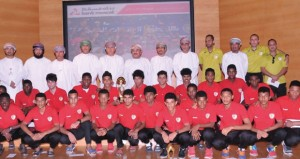 بنك مسقط يحتفل بتكريم الجهاز الفني والإداري ولاعبي المنتخب الوطني للشباب لكرة القدم
