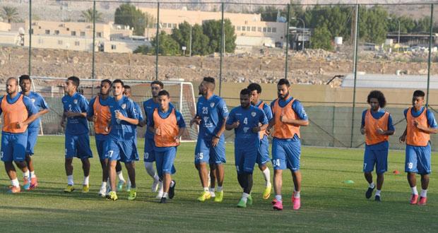 منتخبنا الوطني لكرة القدم يكثف من تدريباته استعدادا لتجربة سوريا