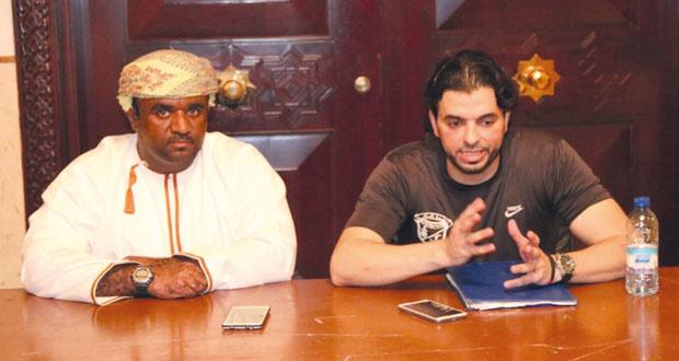 المؤتمر الصحفي لمباراة صحار وصور