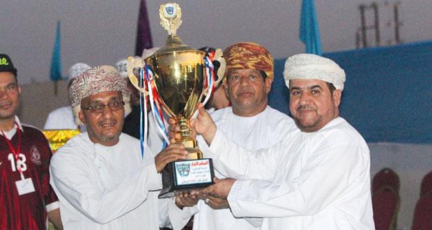 الاتحاد يحرز لقب شاطئية خور الملح لكرة القدم بصحم