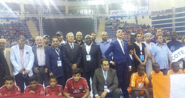 مصر تظفر بلقب أول كأس عالمية للأيتام بفوزها على ساحل العاج