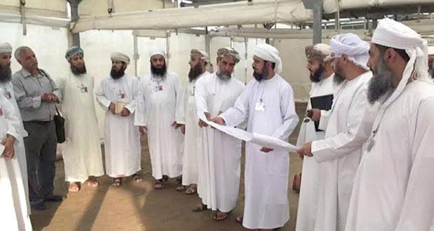 بعثة الحج العمانية تتفقد تجهيزات مخيم منى وتشكل لجنة لتوزيع الخيام على الوفود