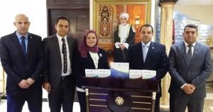 وفد من جامعة مصر للعلوم والتكنولوجيا يزور السلطنة