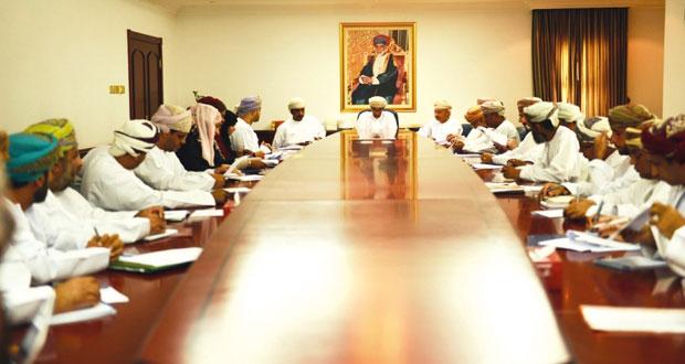 اجتماع يناقش ادارة العمل وجودته في وزارة البيئة