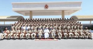 شؤون البلاط السلطاني يحتفل بتخريج الدورة الثانية عشرة من جنوده المستجدين